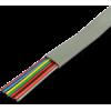Lynn Electronics D4BUCU28BC-SS 4 Cond 26AWG Tinned Copper, Flat, Silver Satin, 1000ft