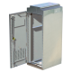 """Multilink 030-222-10 332 Traffic Cabinet Stainless Steel 24.25""""W x 66.8""""H x 33""""D"""