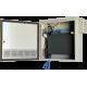 "Multilink 050-051-20 Network Switch Enclosure Indoor / Outdoor 24""W x 24""H x 8""D Gray"